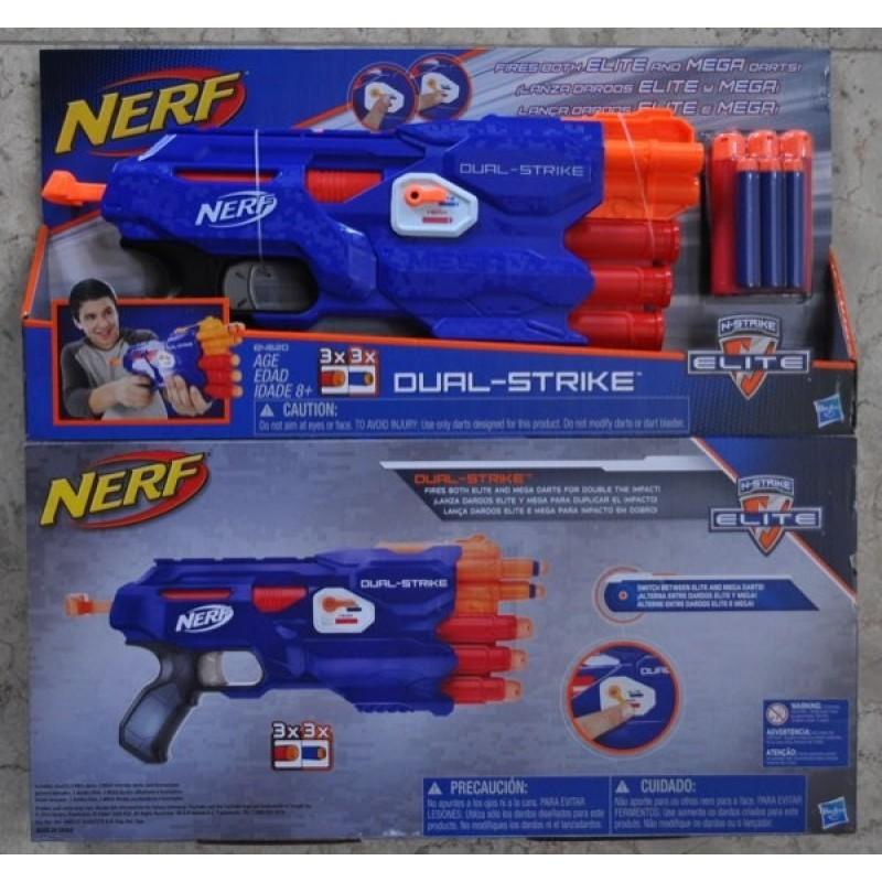 Nerf N-Strike Dual-Strike Blaster ...